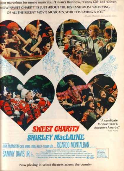 Sweet Charity (Shirley MacLaine) (1969)