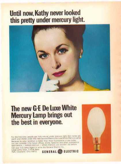 General Electric – New De Luxe White Mercury Lamp (1966)