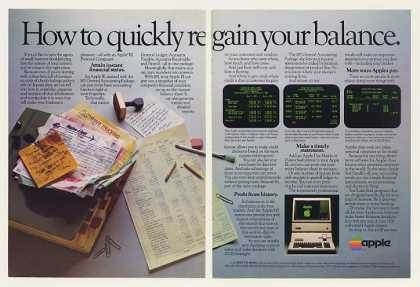Apple III Personal Computer BPI Accounting (1983)