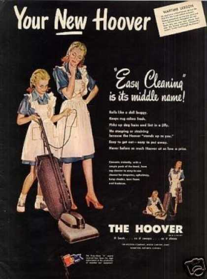 Hoover Vacuum Cleaner (1945)