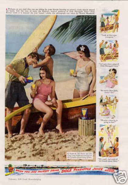 Dole Pineapple Juice (1940)