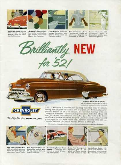 Chevy Chevrolet Bel Air (1952)