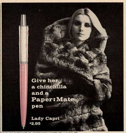 "Papermate Lady Capri ""Give Her a ..."" (1961)"