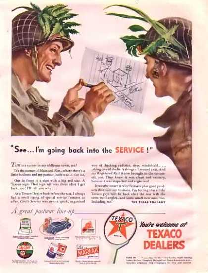 Chevrolet – Leader throughout the war period (1945)