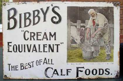 Bibby's Cream Equivalent Calf Food