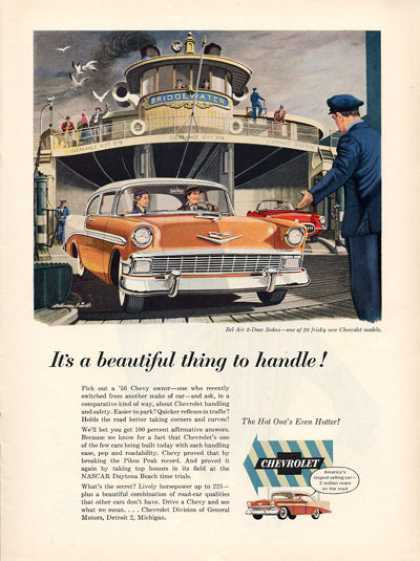 Chevy Chevrolet Bel Air Sedan Ferry Boat (1956)