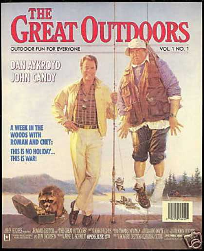 Dan Aykroyd John Candy Great Outdoors Movie (1988)