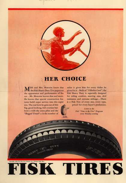 Fisk Tire's Radio Program – Her Choice (1928)