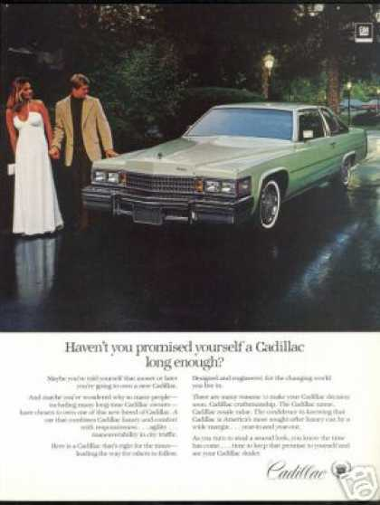 Nice Cadillac 2 Dr Car Photo Print Vintage (1978)