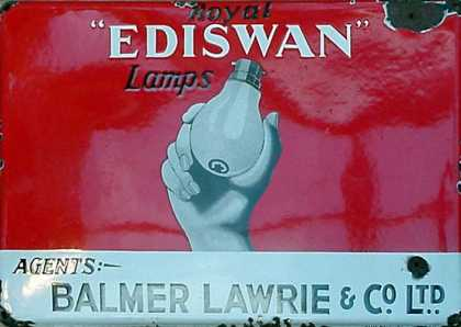 Ediswan Royal Lamps Sign