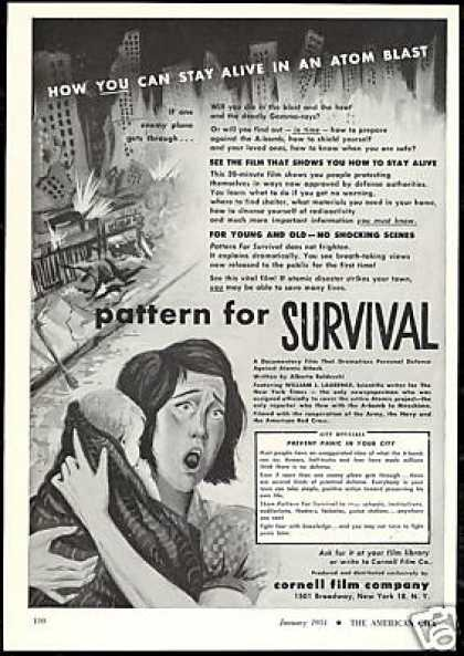 Pattern For Survival Film Documentary Cornell (1951)