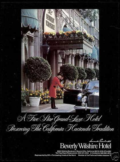 Beverly Wilshire Hotel California Photo (1979)