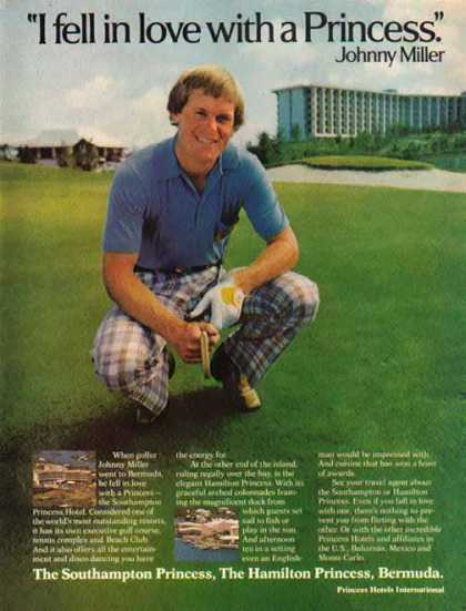 Princess Hotel International – Golf Pro Johnny Miller (1977)