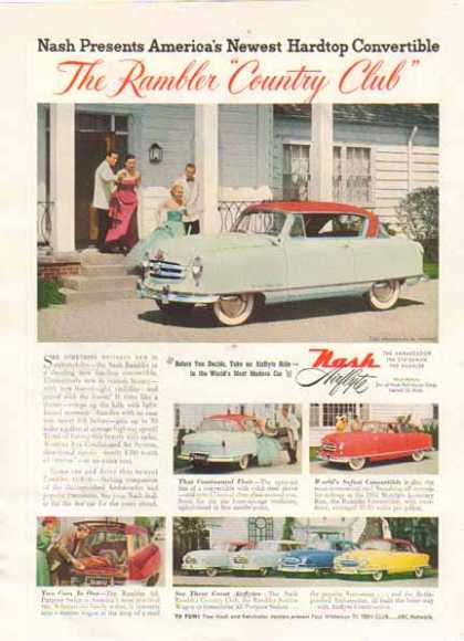 Nash Airflyte Car – 6 Cars to View (1951)