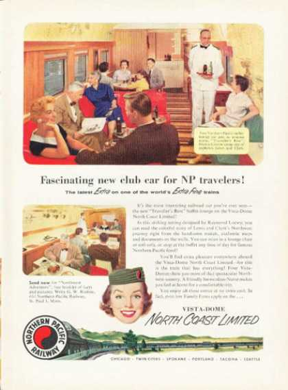Northern Pacific Railway Vista Dome Train (1955)