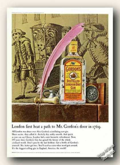 Gordon's Gin London 1769 Art (1966)