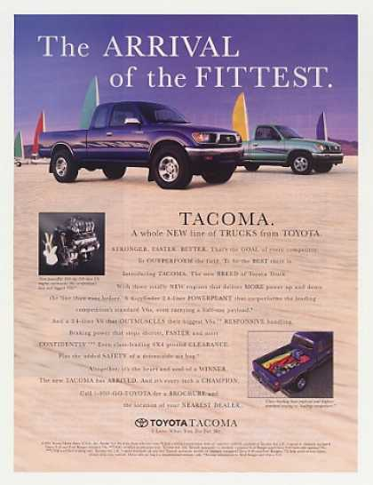 Toyota Tacoma Pickup Truck Arrival of Fittest (1995)