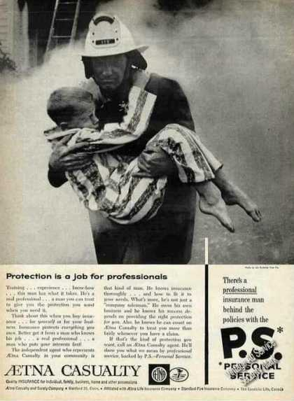 "Aetna ""Protection Is a Job for Professionals"" (1961)"
