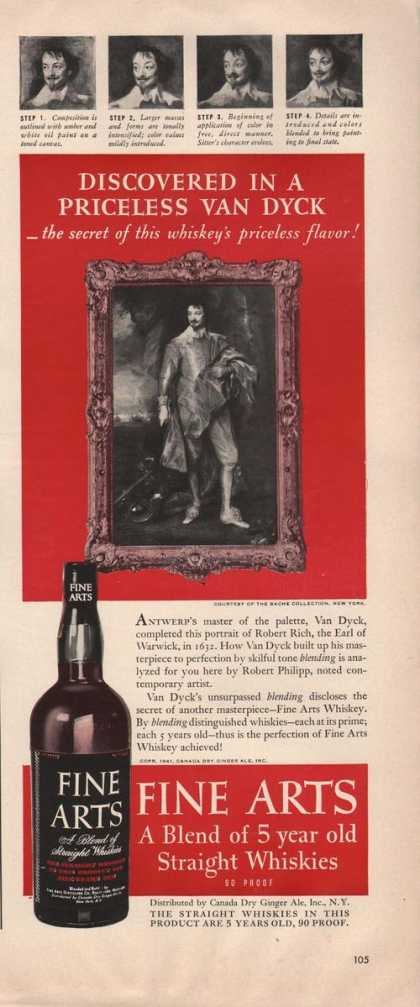 Fine Arts Straight Whiskies (1942)