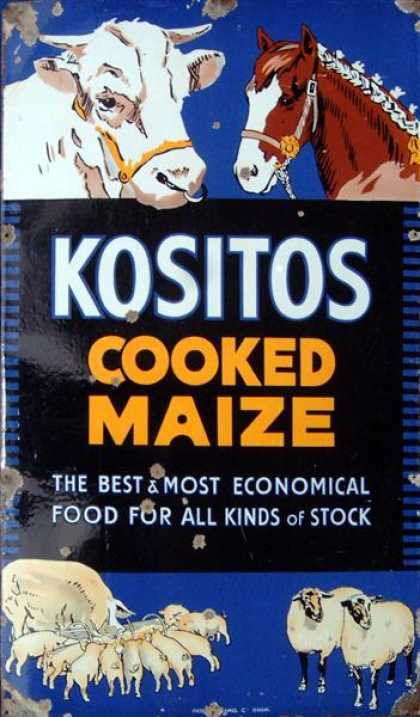 Kositos Cooked Corn & Maize Cattle Feed