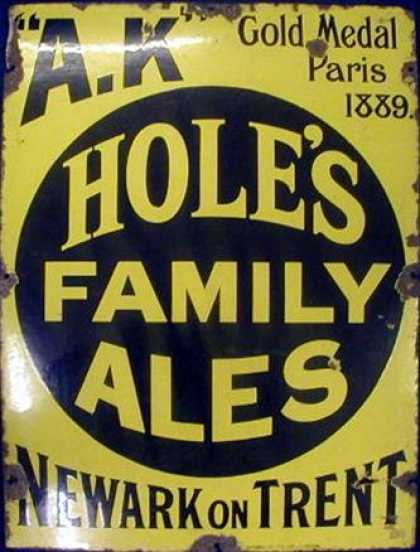 A. K. Hole's Family Ales