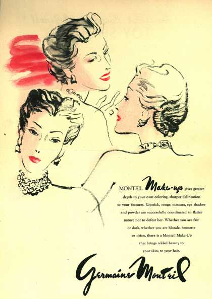 Germaine Monteil's Various – Monteil Make-Up (1945)