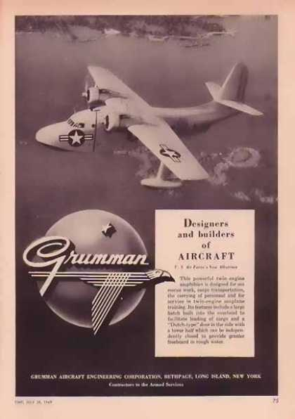 Grumman Aircraft – U.S. Air Force's New Albatross (1949)