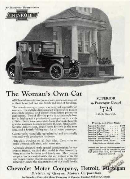 "Chevrolet ""The Woman's Own Car"" Antique (1924)"