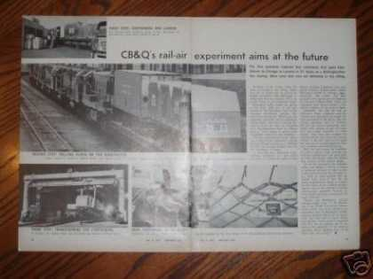 """Cb&q's Rail-air Experiment Aims at the Future"" (1967)"