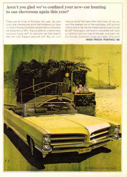 Pontiac Car – Bonneville Wide Track'66 – Lime – Sold (1966)