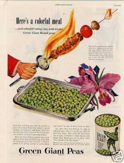 Green Giant Peas (1946)