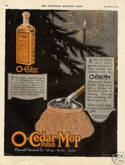 O-cedar Mop & Polish Color (1919)