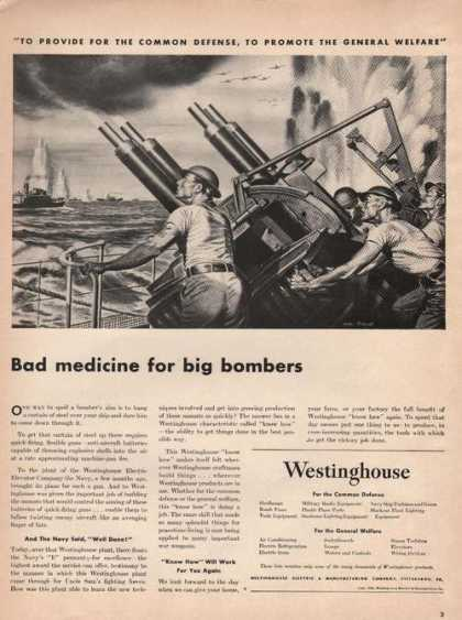 Bad Medicine Big Bombers Westinghou (1942)