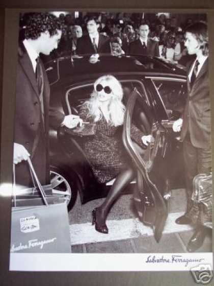 Claudia Schiffer Photo Salvatore Ferragamo Fashion