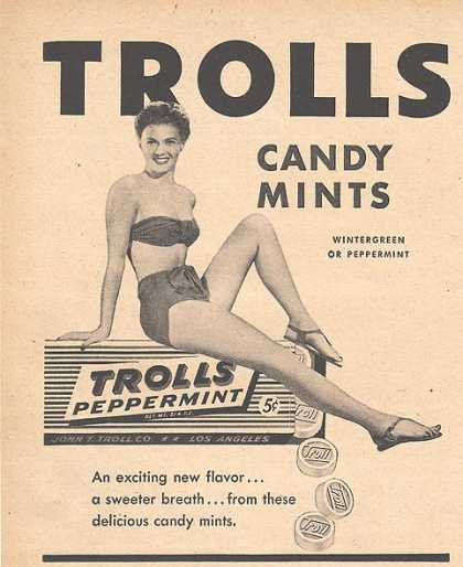 Troll's Peppermint Candy Mints (1946)