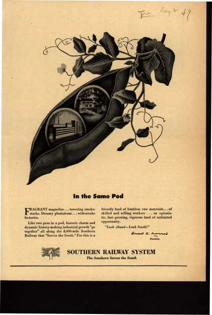 Southern Railway System – In the Same Pod (1949)