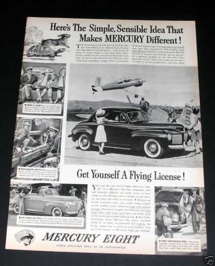 Mercury Eight at Airport (1941)