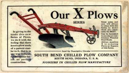 South Bend Chilled Plow Co.'s South Bend X Series Plows – Our X Plows