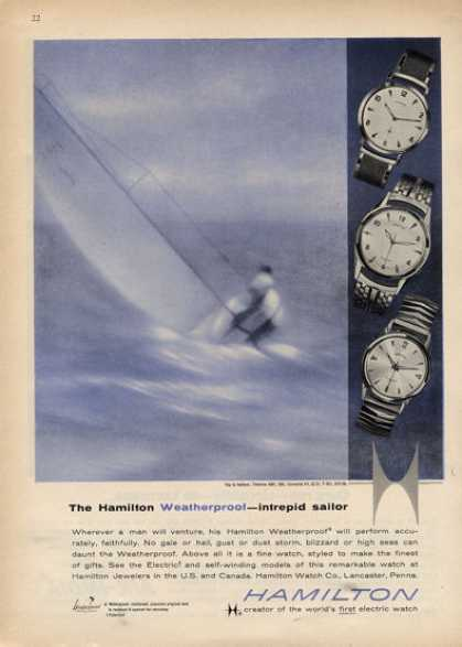 Hamilton Weatherproof Intrepid Sailor Watch (1960)