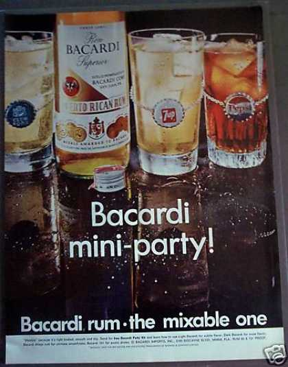 Bacardi Rum the Mixable One (1968)