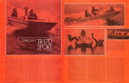 Starcraft Tr-170 Sport Dive Boat Print Article (1970)
