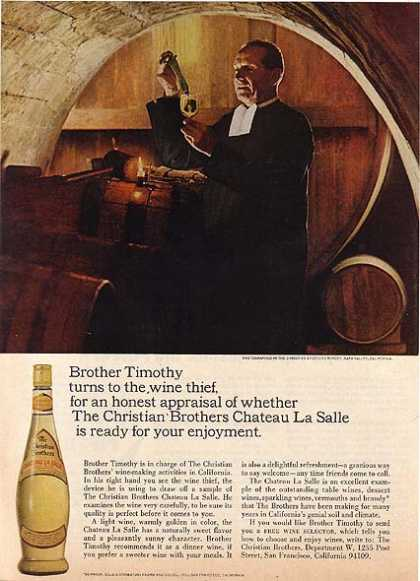 Christian Brother's Chateau La Salle (1966)