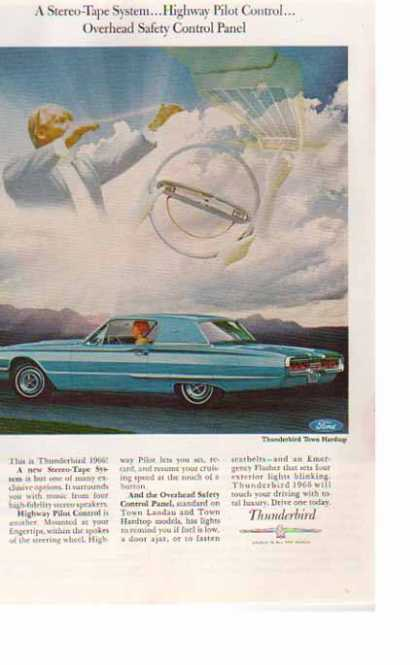 Ford Car – Thunderbird Town Hardtop – Blue (1966)