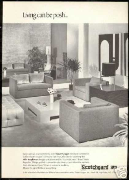 Awesome Thayer Coggin Furniture Baughman Design 3m (1968)