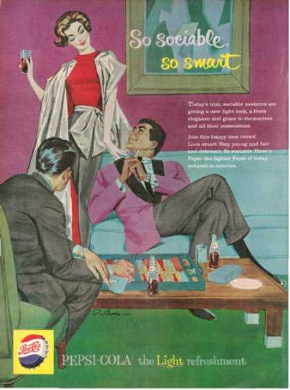 Pepsi Cola Backgammond Game (1959)