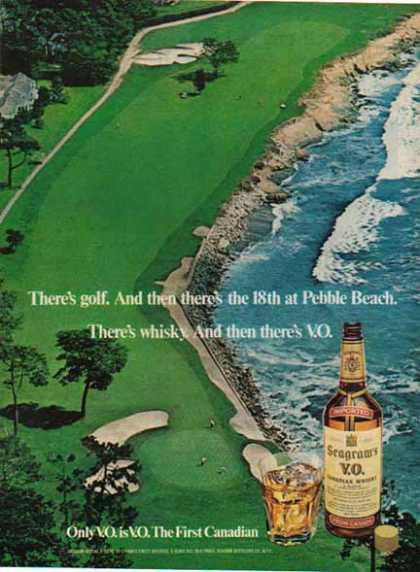 Seagram's V.O. – Pebble Beach Golf Course (1976)
