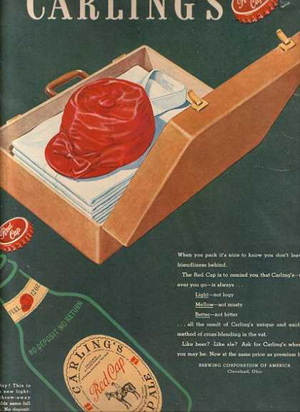 Carling's Red Cap Ale (1948)