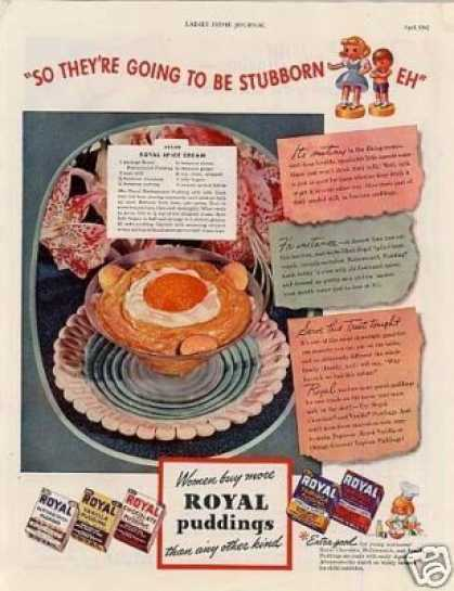 Royal Puddings (1942)