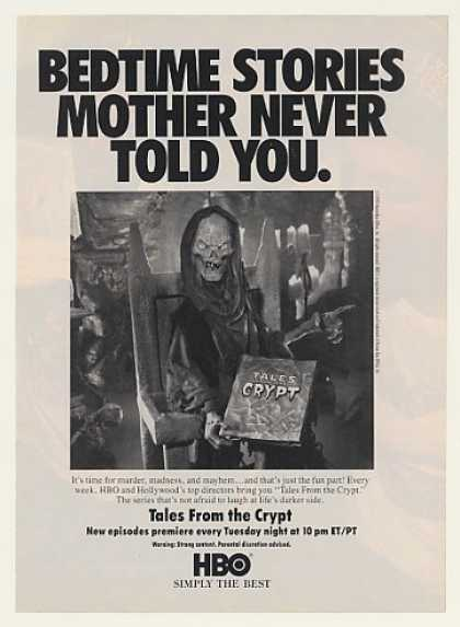 HBO Tales From the Crypt Bedtime Stories (1990)