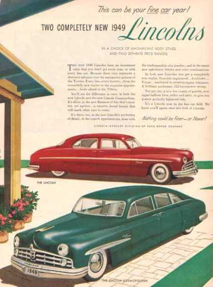 Lincoln Cosmopolitan Car – Red & Green (1949)